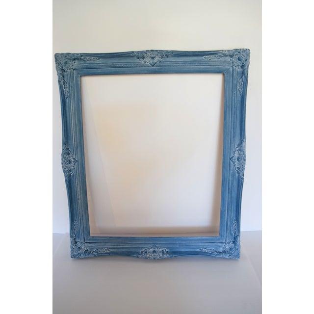 Blue Vintage Picture Frames - A Pair - Image 9 of 9