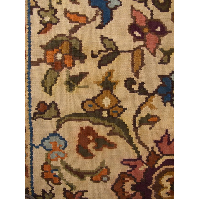 Bessarabian Room-Size Woven Kilim - Image 7 of 10