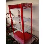 Image of Vintage Metal Coca Cola Store Shelf