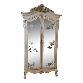 Lane Distressed French Provincial Armoire