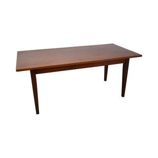 Custom Pine Farmhouse Dining Table