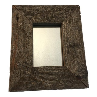 Antique Pierwood Wall Mirror