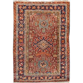 "Apadana - Vintage Persian Heriz Rug, 3'1"" x 4'4"""