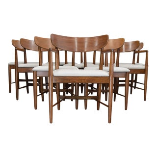 American of Martinsville 'Dania' Dining Chairs - Set of 10