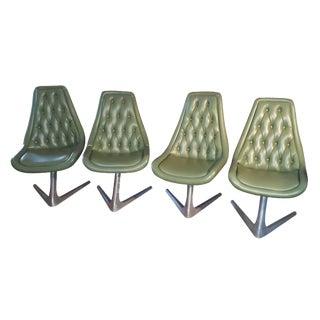 Chromcraft Sculpta Star Trek Chairs - Set of 4