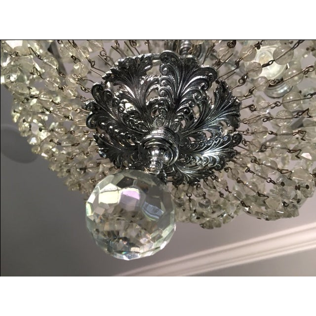1900s Empire Crystal Chandelier - Image 9 of 11