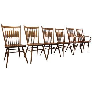 Kipp Stewart Paddle Back Chairs  - Set of 6