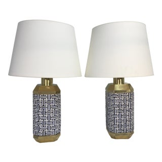 Chapman Asian Style Lamps - a Pair