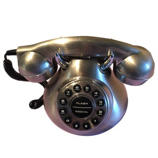 Retro Style Stainless Phone