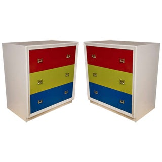 Mid-Century Modern Chests of Drawers - A Pair