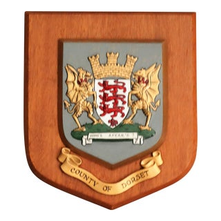 County of Dorset Crested Wall Plaque