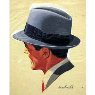 Hat Illustration Giclee Print