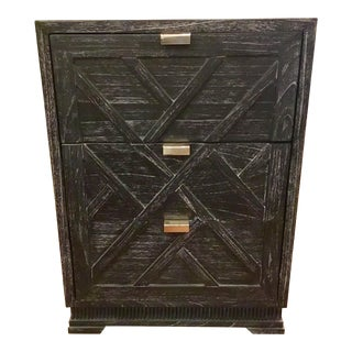 Bungalow 5 Co. Cara Three Draw Black Side Table