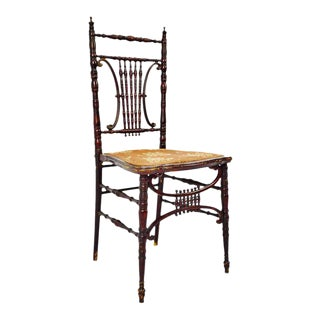 Antique Heywood Brothers & Wakefield Company Victorian Side Chair