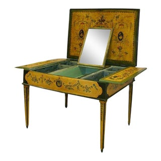 1850s Painted Italian Dressing Table