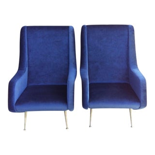 Lounge Chairs by Aldo Morbelli for Isa