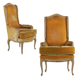 Pair of Hollywood Regency Arm Chairs, 20th century