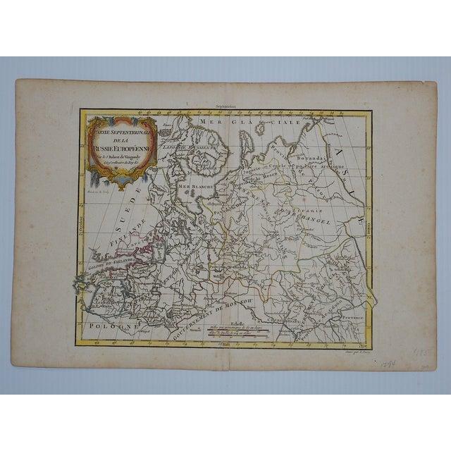 18th C. Russia, Siberia & Tartary Maps- Set of 3 - Image 4 of 5