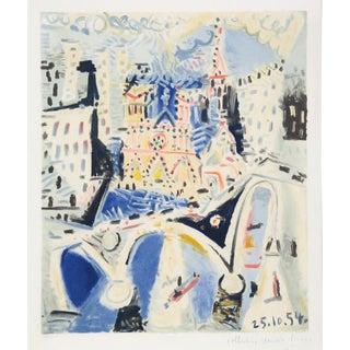 Pablo Picasso Notre Dame Lithograph