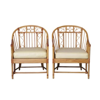 Brighton Pavilion Bamboo Chairs, A Pair