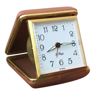 Vintage Travel Alarm Clock