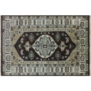 """Handmade Oriental Heriz Serapi Area Rug- 6' X 8' 9"""""""