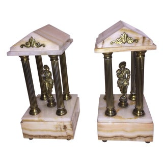 Hollywood Brass Architectural Models - Pair