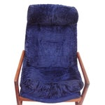 Image of Adrian Pearsall for Craft Blue Lounge Chair
