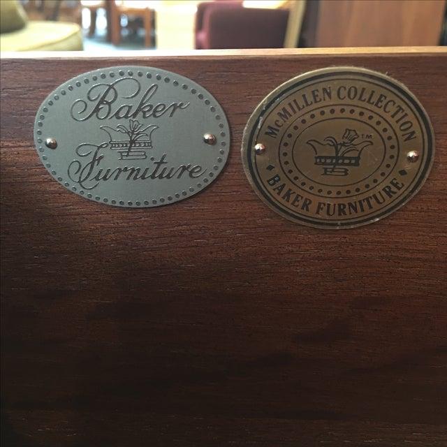 Baker Red Chinoiserie Desk - Image 11 of 11