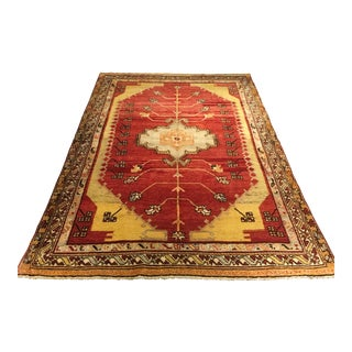 "Bellwether Rugs Vintage Turkish Oushak Rug - 5'9""x8'9"""