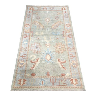 "Bellwether Rugs Vintage Turkish Oushak Area Rug - 2'9"" X 5'3"""