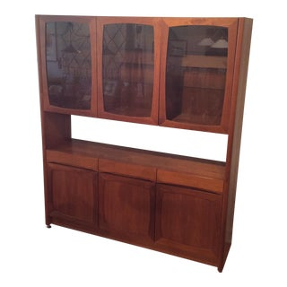 Danish Modern Teak Hutch by Nordic Furniture