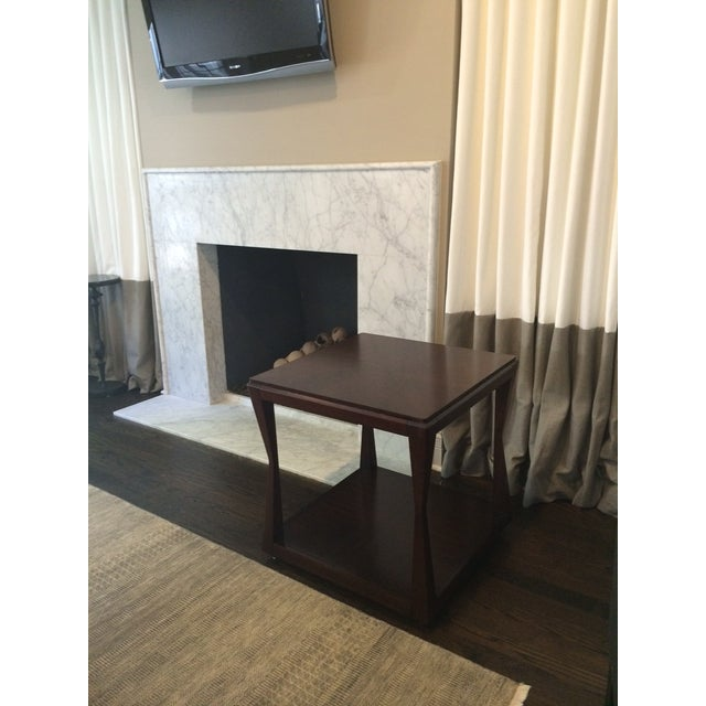 Image of Brand New Dark Wood Side or Center Table