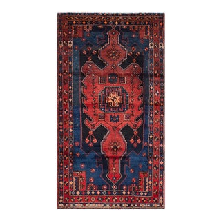 "Vintage Persian Tribal Nahavad Rug - 43.2"" x 73.2"""