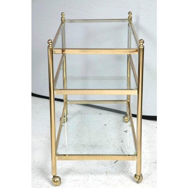 Brass Bar Cart - Image 4 of 5