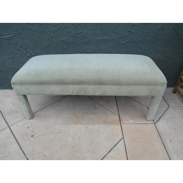 Upholstered Parsons Bench - Image 4 of 7