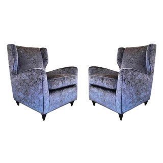 Pair of Mid-Century Italian Club Chairs