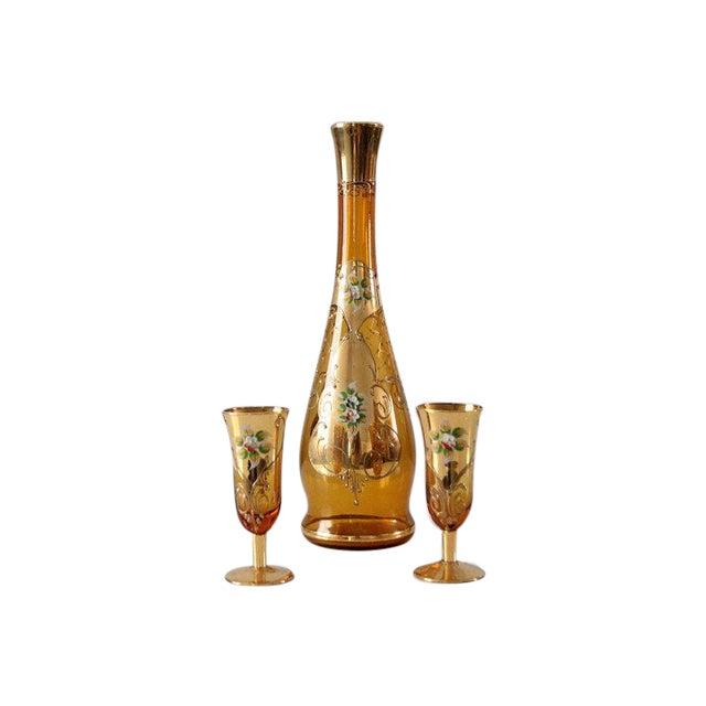 Vintage Wine Decanter Set - Image 1 of 5
