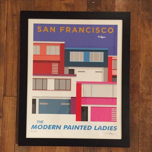 San Francisco Modern Painted Ladies-Print Only - Image 2 of 5
