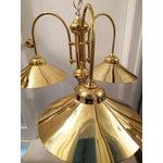 Image of Vintage Brass Raindrop Pendant Light