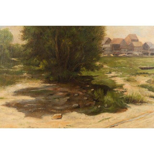 19th-Century Sea Shore Landscape - Image 5 of 10