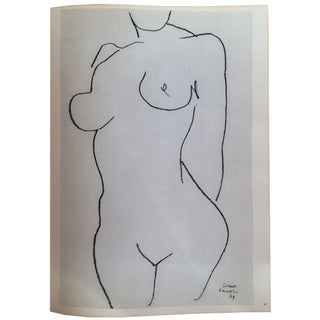 Henri Matisse Double-Sided Lithograph, Nude 2