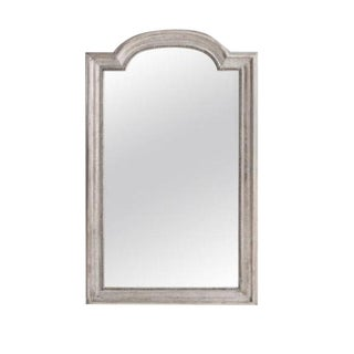 French 19th Century Louis Philippe Silver Gilt Mirror