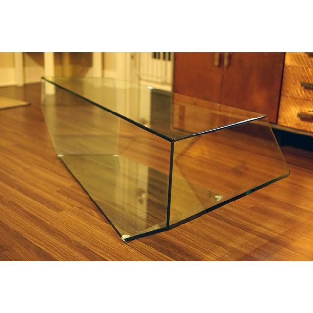 Image of Tonelli Dekon 2 Geometric Glass Coffee Table