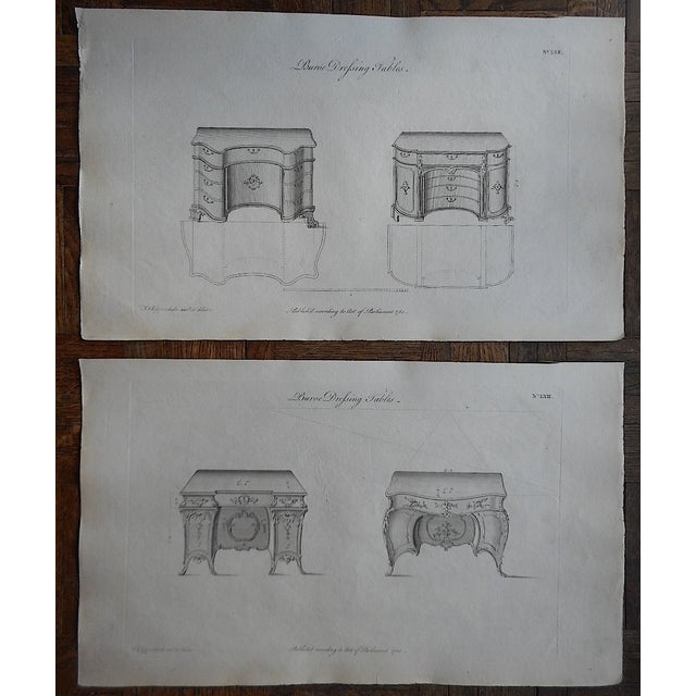 18th-Century Chippendale Furniture Engravings - Image 3 of 3