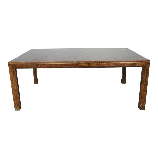 Master Burlwood Dining Table - Image 1 of 11