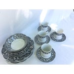 Image of J & G Meakin Ironstone China - Service for Four