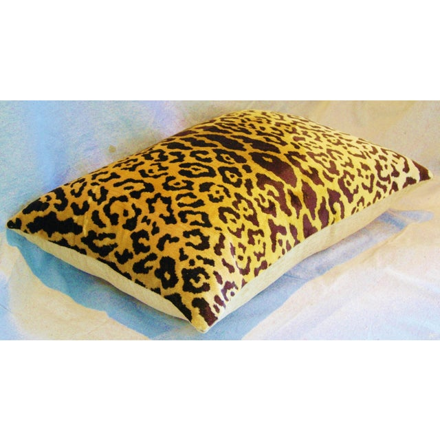 Scalamandre Cut-Velvet Leopardo Pillow - Image 6 of 8