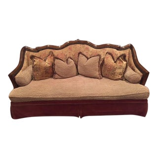 Old World Vintage Style Sofa