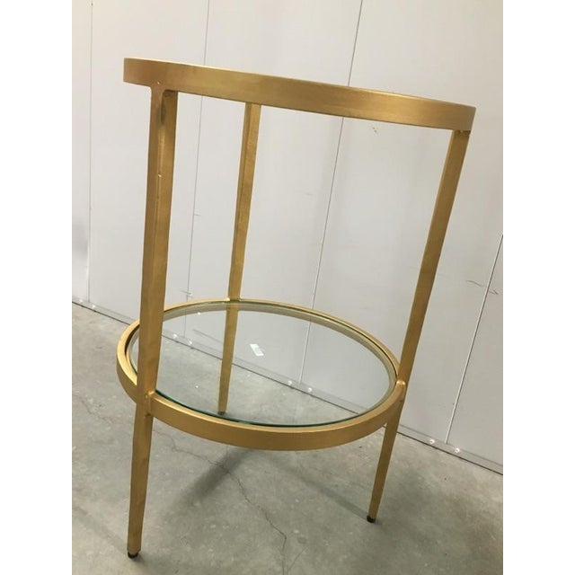 Image of Studio a Two-Tiered Side Table